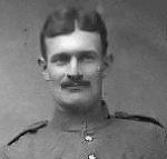 Photo of William John Cook– Sergeant William John Cook 2nd Railway Battalion (as a Private circa 1915)