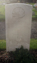 Grave Marker– Died of pneumonia following wounds (gas). Photo and additional information provided by The Commonwealth Roll Of Honour Project. Volunteer Henry Drury