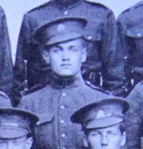 Photo of JOHN ANDREW SOLOMON– Enrolled with the 37th Battalion CEF. Submitted for the project, Operation: Picture Me
