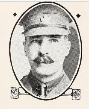 Photo of WALTER WILSON STEWART– Photo from the National Memorial Album of Canadian Heroes c.1919. Submitted for the project, Operation: Picture Me.