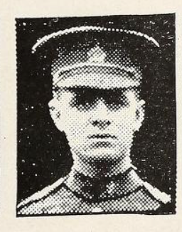 Photo of Charles Alfred Watts– Photo from the National Memorial Album of Canadian Heroes c.1919. Submitted for the project, Operation: Picture Me.