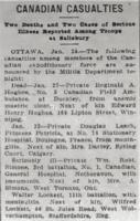 Newspaper clipping– From the Daily Colonist of January 30, 1915. Image taken from web address of https://archive.org/stream/dailycolonist57y44uvic#mode/1up