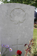 Grave Marker– Died of wounds received in the attack on Caix. Photo and additional information provided by The Commonwealth Roll Of Honour Project. Volunteer Mike Symmonds