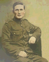 Photo of William Fry– William in his uniform