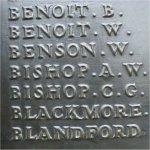 Inscription– BEAUMONT-HAMEL MEMORIAL