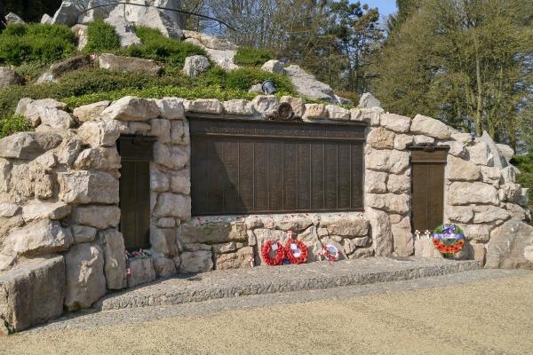 BEAUMONT-HAMEL (NEWFOUNDLAND) MEMORIAL– April 2017 … photo courtesy of Marg Liessens