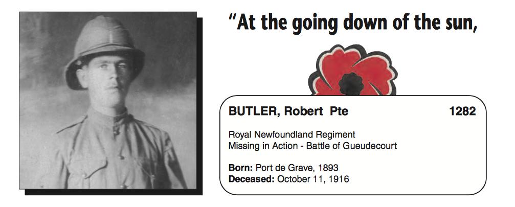 Photo of ROBERT BUTLER