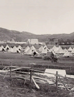 Camp– This picture depicts a camp like the ones seen in Camp Pleasantville in St. John's around the time of enlisting.