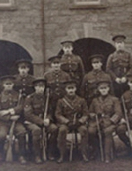 Group Photo– A group picture of some of the Newfoundlanders who served in the First World War.