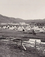 Camp– his picture depicts a camp like the ones seen in Camp Pleasantville in St.
