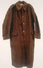 Overcoat– Overcoat typical of those worn by the Royal Newfoundland Regiment.