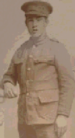 Photo of William George Harris– William in his uniform
