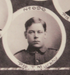Photo of JOACHIM MURPHY– In memory of the men and women from Newfoundland who went away to war and did not come home. From the  Rooms Archives and Museum St Johns Newfoundland. Submitted for the project, Operation Picture Me