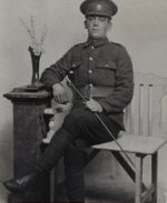 Picture of John Saunders– Son of James and Sarah Anne Saunders of Glovertown, Newfoundland.