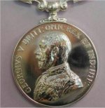 Military Medal– An example of the Military Medal awarded to Sgt Waterfield.