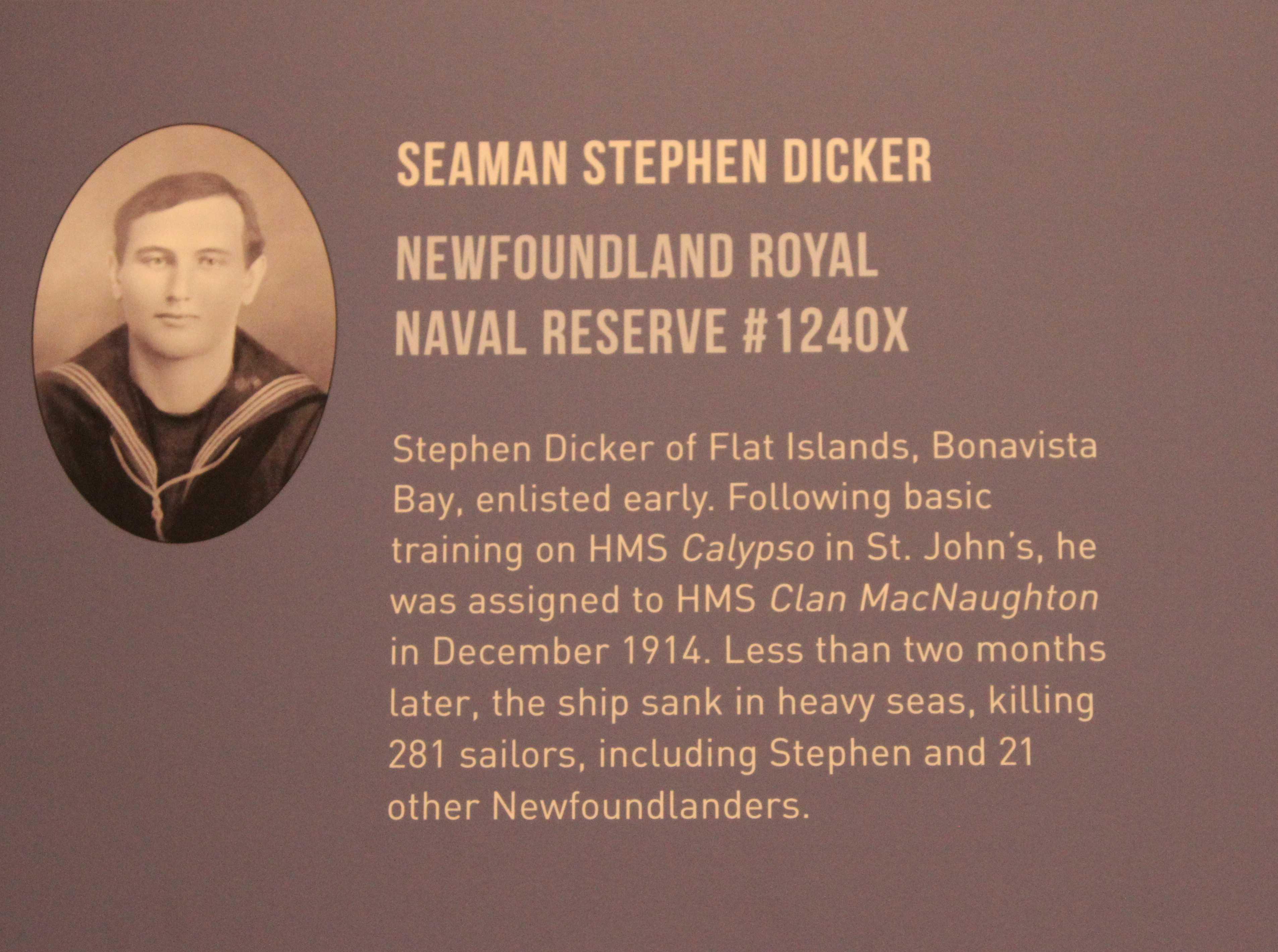 Photo of STEPHEN DICKER