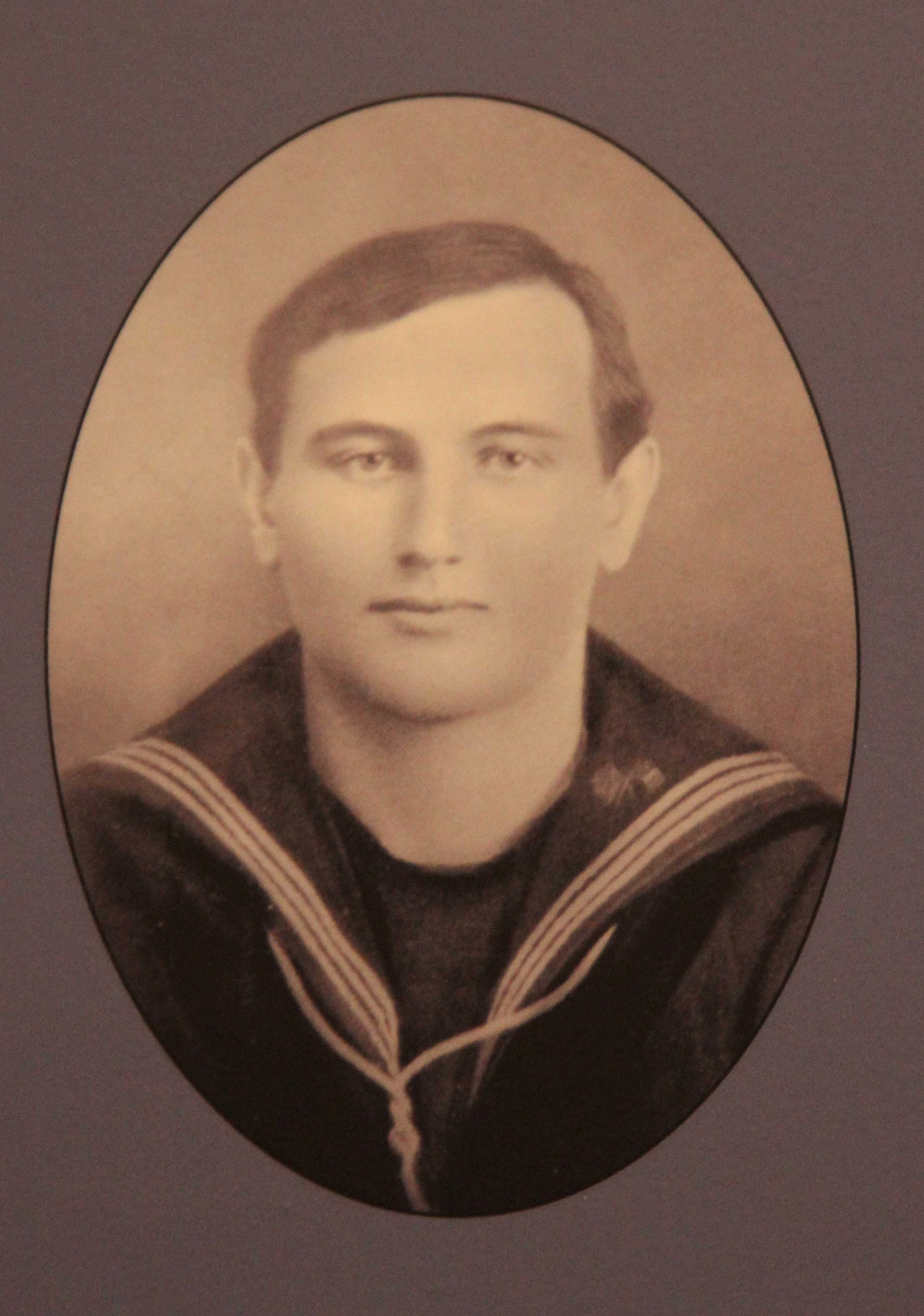 Photo of STEPHEN DICKER– In memory of the men and women from Newfoundland who went away to war and did not come home. From the  Rooms Archives and Museum St Johns Newfoundland. Submitted for the project, Operation Picture Me
