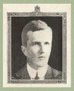 Photo of Thomas Gordon– Source:  Acta Victoriana War Supplement, Victoria College, Toronto, Ontario, December 1919.