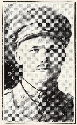 Photo of ASA MILTON HORNER– Photo from the National Memorial Album of Canadian Heroes c.1919. Submitted for the project, Operation: Picture Me.