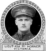 Photo of Asa Horner– From: The Varsity Magazine Supplement published by The Students Administrative Council, University of Toronto 1918.   Submitted for the Soldiers' Tower Committee, University of Toronto, by Operation Picture Me.