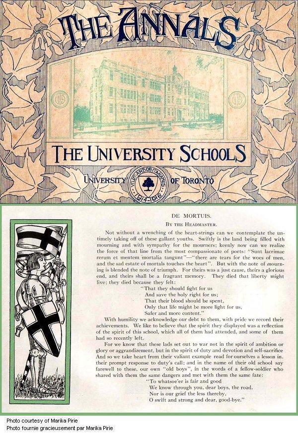 University School Tribute