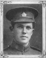 """Photo of Richard Goodlass Kirby– Richard Goodlass Kirby, as a member of the Trinity Methodist Church in Toronto, was remembered in the roll of honour in the """"Trinity War Book"""". This book  was published by the church in 1921."""