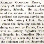 Biography– Richard Goodlass Kirby's biography from the University Schools' 1916 edition of the Annals.