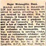 Newspaper Obituary