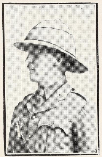 Photo of ARTHUR EDWARD MCLAUGHLIN– Photo from the National Memorial Album of Canadian Heroes c.1919. Submitted for the project, Operation: Picture Me.
