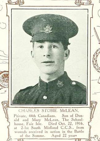 Photo of CHARLES STOBIE MCLEAN