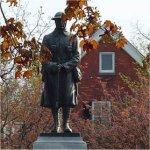 Burlington Ontario War Memorial (1922)– Located next to Burlington's City Hall on Brant Street.