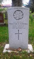 Grave Marker– Restored CWGC Headstone at Woodlawn Memorial Park, Guelph, Wellington County, Ontario, Canada