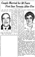 Newspaper Clipping– William in mentioned in the Toronto Star Dec 1939. Submitted for the project, Operation Picture Me