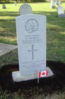 Grave Marker– Andrew Rosmus, Grave Marker, installed on September 18, 2019