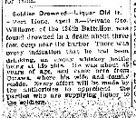 Newspaper Clipping– From the Toronto Star for 3 April 1916.