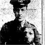 Photo of George Thorold Davidson– Toronto Star, October 31st, 1916.