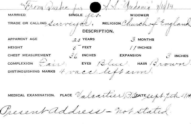 Service Records (back)