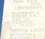 Memorial Panel– Photo Courtesy of Wilf Schofield, England