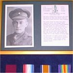 Medals– Photo is of E. De Wind's VC display, in the Royal Ulster Rifles Regimental Museum.