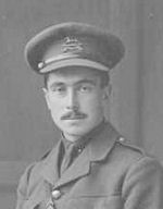 Photo of Robert Alexander Rankine Campbell– Robert A.R. Campbell c1915 (from the WWI papers of his UofT friend, Capt. D'Arcy Prendergast RAF)
