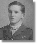 Photo of Theodore Charles May– Flight Sub-Lieutenant Theodore Charles May attended St. Andrew's College in Aurora, Ontario from 1912 to 1916.