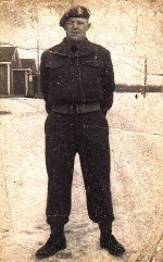 Photo by H. Althouse– Orest Hryck, another young man from Canora, Saskatchewan.  He served in the Third Patricias and survived the war.