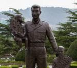 Memorial– Canadian Memorial, UN Cemetery, Busan, Korea, 2013. Duplicate is in Ottawa, Ontario