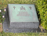 Grave Marker– United Nations Memorial Cemetery, Busan, South Korea Burial Plot: Section 2, Row 1, Grave 46.