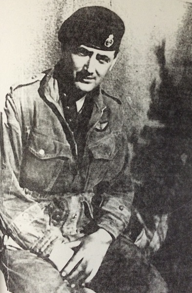 Photo of John Harmon– John Frederick Harmon during active duty.  He also served in WWII, and was wounded twice in action in Italy.