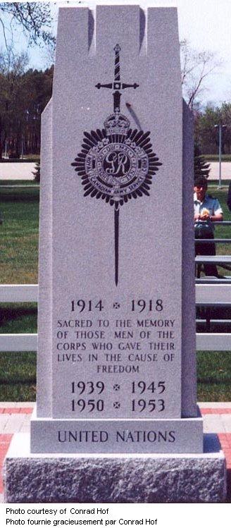 RCASC Cenotaph