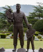 Korean War Memorial– Canadian Memorial, UN Cemetery, Busan, Korea, 2013