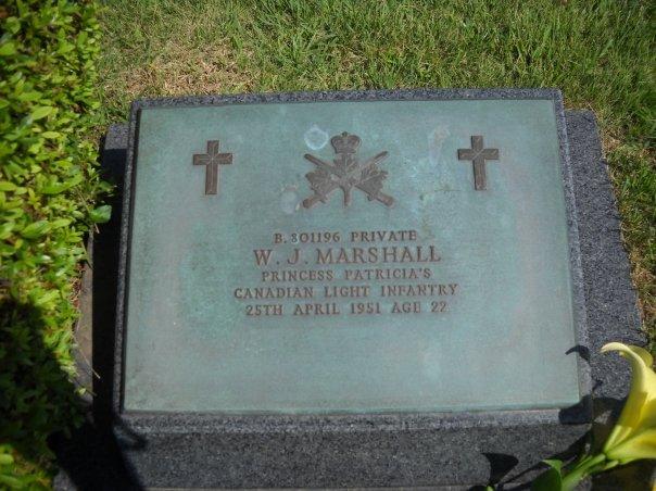 Grave marker– Gravesite in United Nations Memorial Cemetery Korea (UNMCK)
