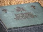 Grave Marker– Private Pearson's resting place in Busan, Korea.
