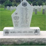 Korea Veterans War Memorial– This War Memorial is dedicated in memory of Manitobans who lost their lives during the Korean War.